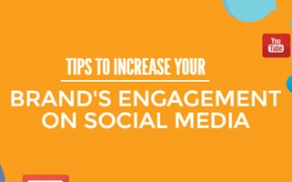 Tips to increase your brand's engagement on social media