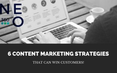 6 Content Marketing Strategies that Win Customers