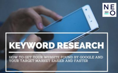 Keyword Research: How to get your website found by Google and your target market easier and faster
