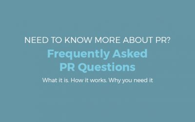 Frequently Asked PR Questions
