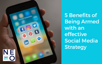 5 Benefits of Being Armed with an effective Social Media Strategy